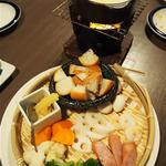 4種チーズと西京味噌のチーズフォンデュ