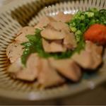 宮崎地鶏 白レバーのたたき(神田有薫 )