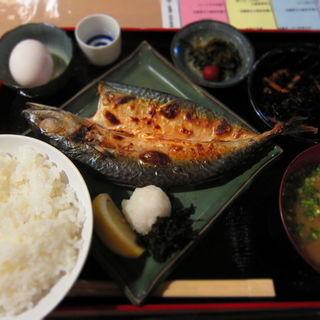 地魚定食(神田有薫 )