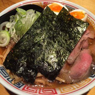 特製醤油ラーメン 肉増し(麺ハウス こもれ美 )