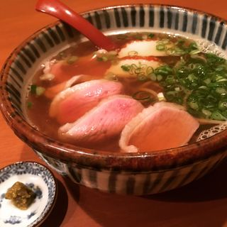鴨なん蕎麦(かもふく )