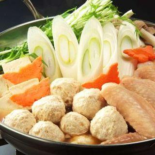 鶏つくね鍋(燦 千葉駅前店 (SUN))