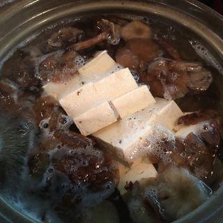 ボリ入り湯豆腐(居酒屋祭)