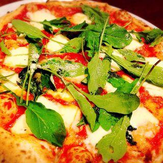 マルゲリータ アフミカート エ ルーコラ(神戸須磨 イタリアン Pizzeria OTTO (ピッツェリア オット))