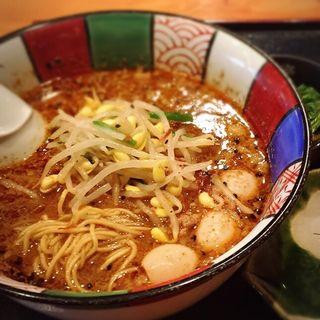 黒胡麻担々麺(星火 )