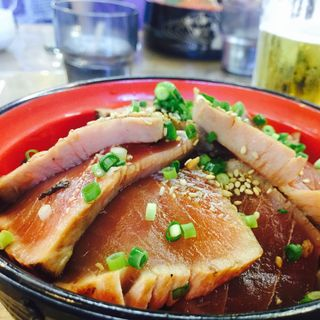 鮪漬け丼(松島さかな市場 )