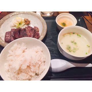 牛タン定食(極たん牛政宗 )