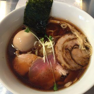 鰹×鶏ラーメン(Bonito Soup Noodle RAIK)