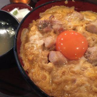 親子丼(鶏味座屋台)