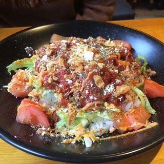 ぐりるのタコライス(HaRaPeKo Dining ぐりる)