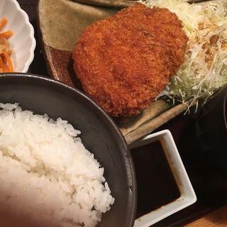メンチカツ定食(やまや 浜松町店 )