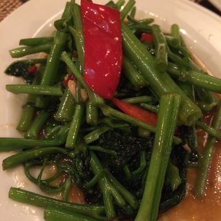 空芯菜の炒め物(ジャスミン タイ 八重洲店 )