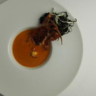 ワタリガニのスープ(ル・ヴァンキャトル )