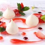 苺のデザート