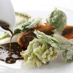 山菜と鮮魚のフリット