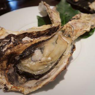 焼き牡蠣(牡蠣屋)