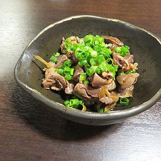 鶏モツ煮(鶏料理ひとりひとり )
