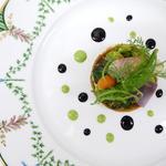 温野菜のタルト