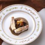 鯛と季節のキノコのソテー