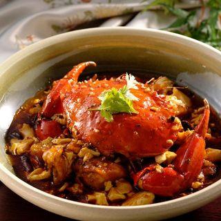 蟹黄豆腐(四川菜 龍滕 )