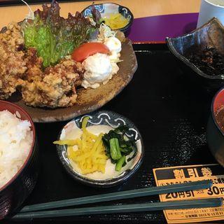 唐揚げ定食(道の駅 藤川宿 軽食コーナー )