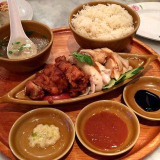 シンガポールチキンライス(シンガポール海南鶏飯 汐留店 )