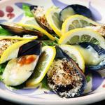 ムール貝と焼き野菜のマリネ
