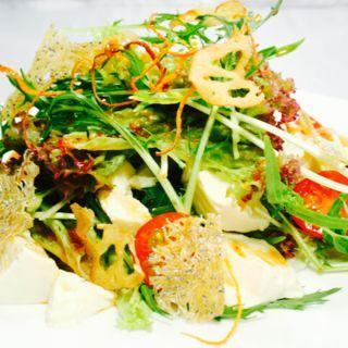 ごまだれ豆腐サラダ(個室居酒屋 季節の台所 旬の蔵 秋葉原店 )