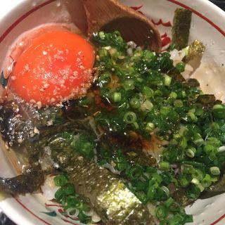 卵かけ御飯(割烹 大田川 (かっぽう おおたがわ))