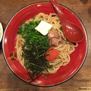 特製まぜ麺 ぶっかけ明太子(三田製麺所 新宿西口店 (つけ麺専門店))