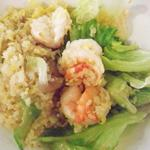 蝦仁生菜炒飯