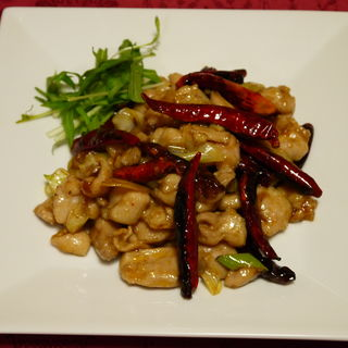 牛肉と唐辛子の炒め物(老地方  (ラォディファン))