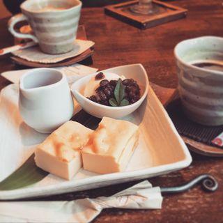 豆腐チーズケーキ(船橋屋 こよみ 広尾店 (フナバシヤコヨミ))