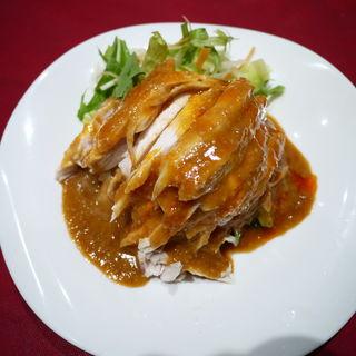 鶏むね肉の蒸し上げ 味噌と共に(老地方  (ラォディファン))