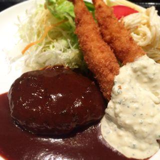 自家製ハンバーグ(ぱ・らんて)