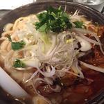 葱油叉焼刀削麺