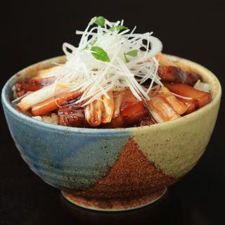 豚の照り焼き御飯(良食健富 りょうぶ)