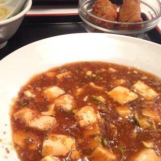 麻婆豆腐定食(ちゃいにーず香港食卓 (チャイニーズホンコンテーブル))