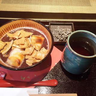 焼き餅ぜんざい(かきはち 本店 )