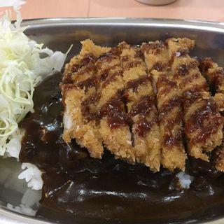 チキンカツカレー 小(ターバンカレー 本店 )