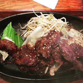 ハラミステーキ定食(てつ (TETSU))