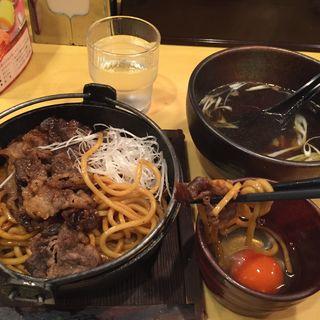 すき焼き焼きそば(寿座  総本店 )