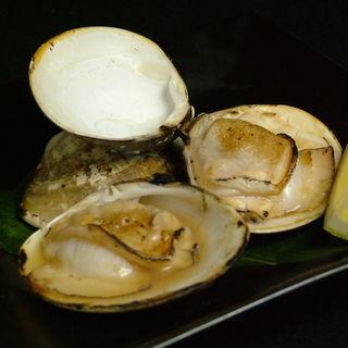 ハマグリの醤油焼き(黒千代香 (くろじょか))