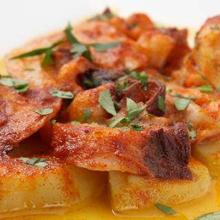 豚肉とポテトのトマト煮込み(赤坂スペインクラブ アラ )