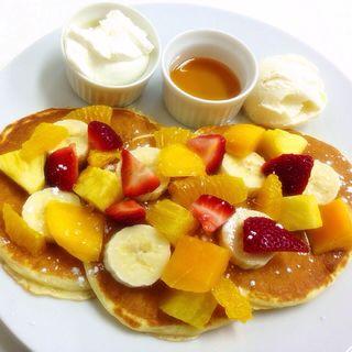 タマタスペシャルパンケーキレギュラー(タマタ (Fruit kitchen TAMATA))