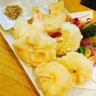 海老の天ぷら(旨し酒 風丹 )