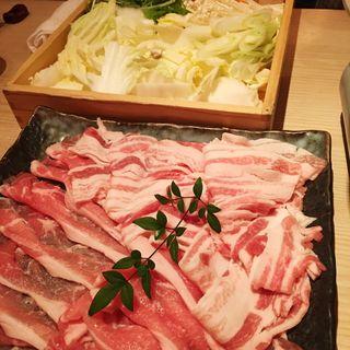 豚しゃぶ(京町しずく)