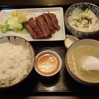 山芋とろろ付ゑのじ定食(ゑのじ (エノジ))