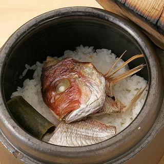 鯛の土鍋(すみれ家)