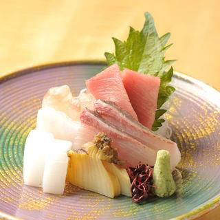 鮮魚のお造り(すみれ家)